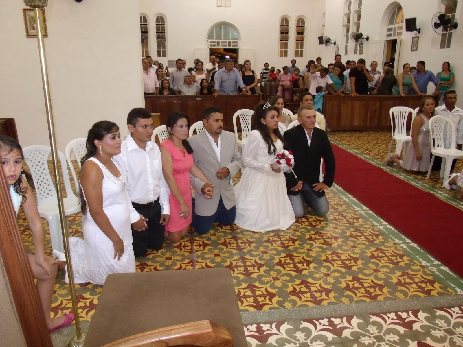 Paroquia de Almino Afonso realiza casamento comunitário