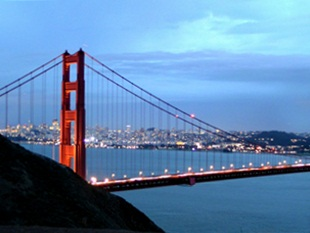 Golden Gate From Marin Headlands