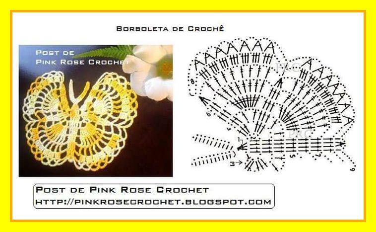 Schemi Farfalle Uncinetto 1 3 Amatcardco