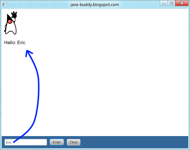 Java-Buddy: Execute JavaScript in WebView from Java code