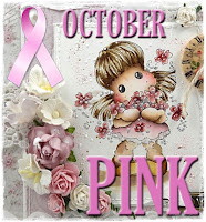 October Challenge -  Traditional Pink