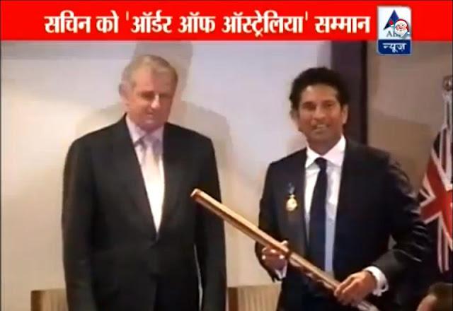 Order of Australia awarded to Sachin Tendulkar Latest News Images Videos Cricket God