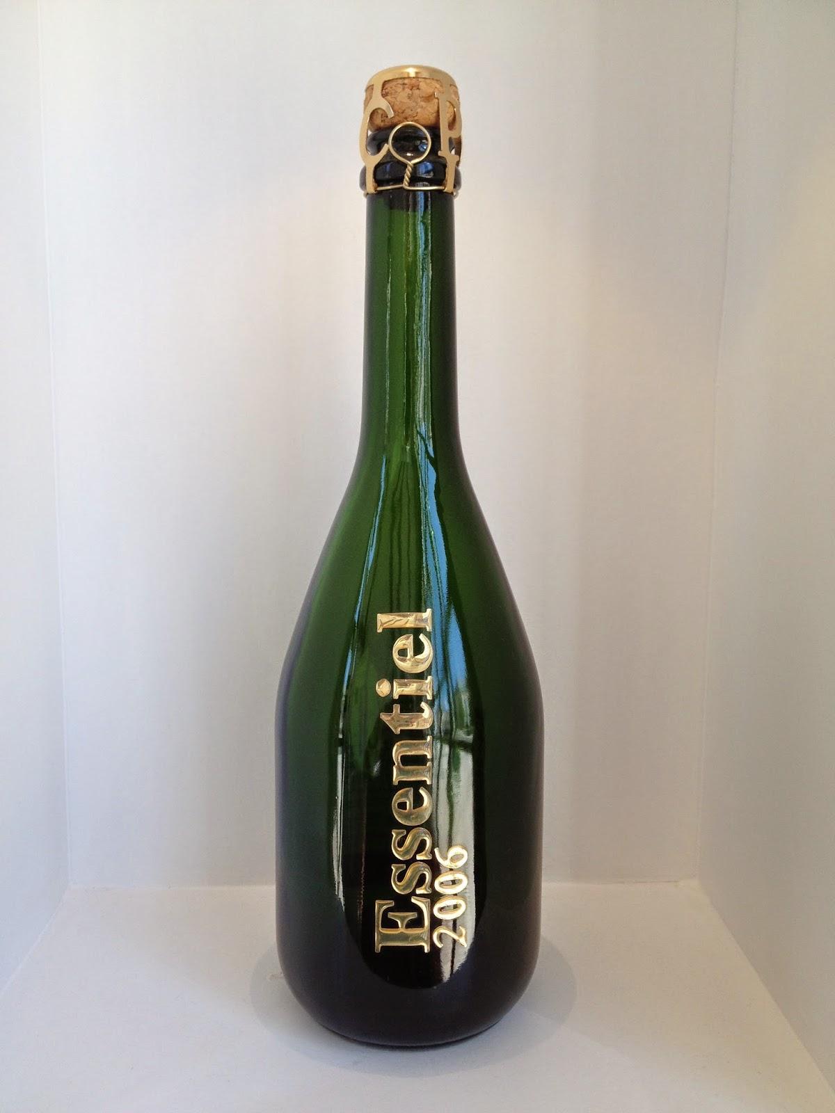 Tasting champagne in Champagne