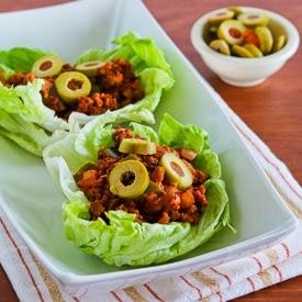 Turkey Picadillo Lettuce Wraps | Kalyn's Kitchen®