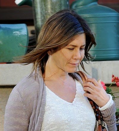 "Note that in the ""Cake"" 45-year-old Aniston plays a woman named Claire Simmons"