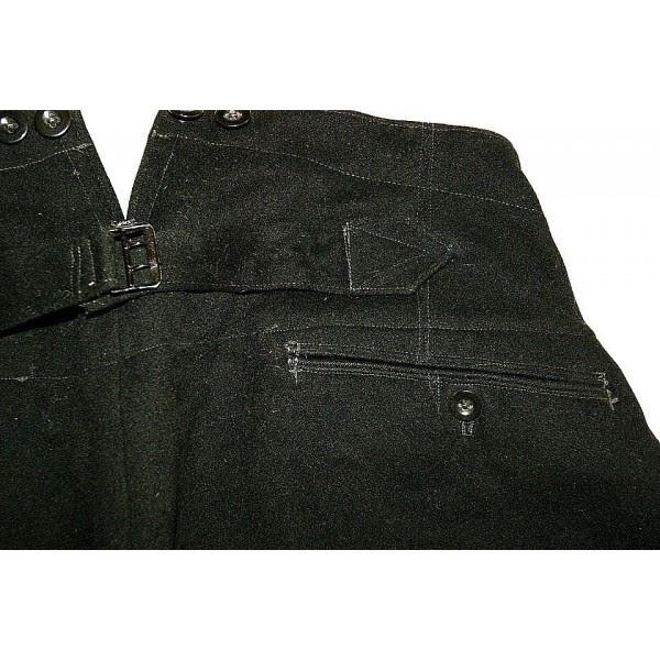 Pantalon d 39 uniforme noir d 39 officier ss collection privee for Bouton cuisse interieur