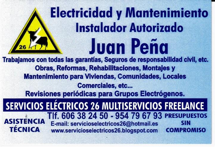 Electricista autorizado 24 horas y festivos sevilla - Herreros en sevilla ...