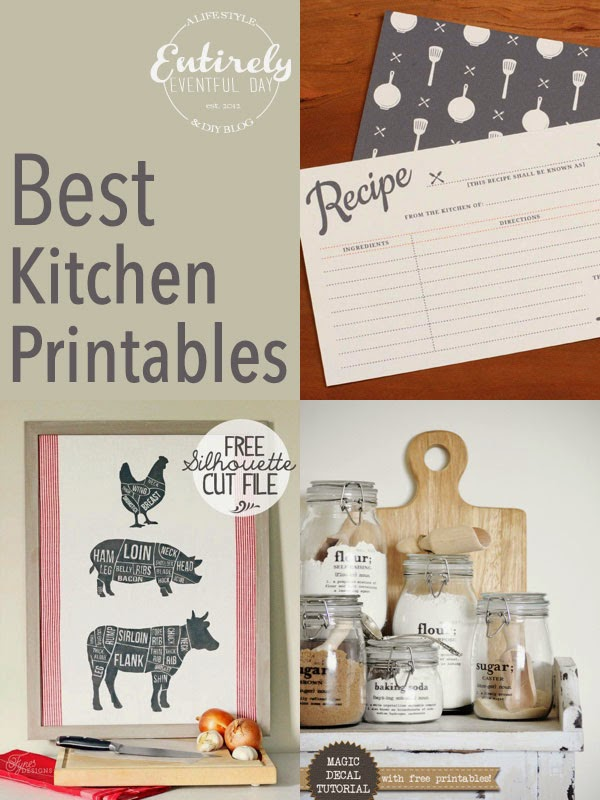 Entirely Eventful Day: The Best (Free) Kitchen Printables