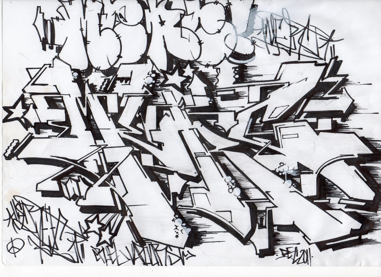 skroez cvk - Cardiff based graffiti artist