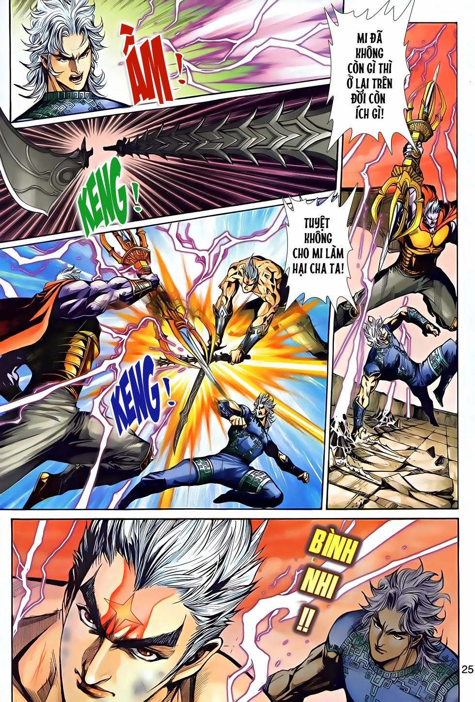 Thần Binh Tiền Truyện 2 chap 21 Trang 24 - Mangak.info