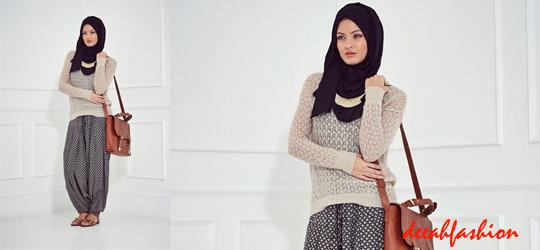Baju Muslim Kantor Kasual OfficeLook3