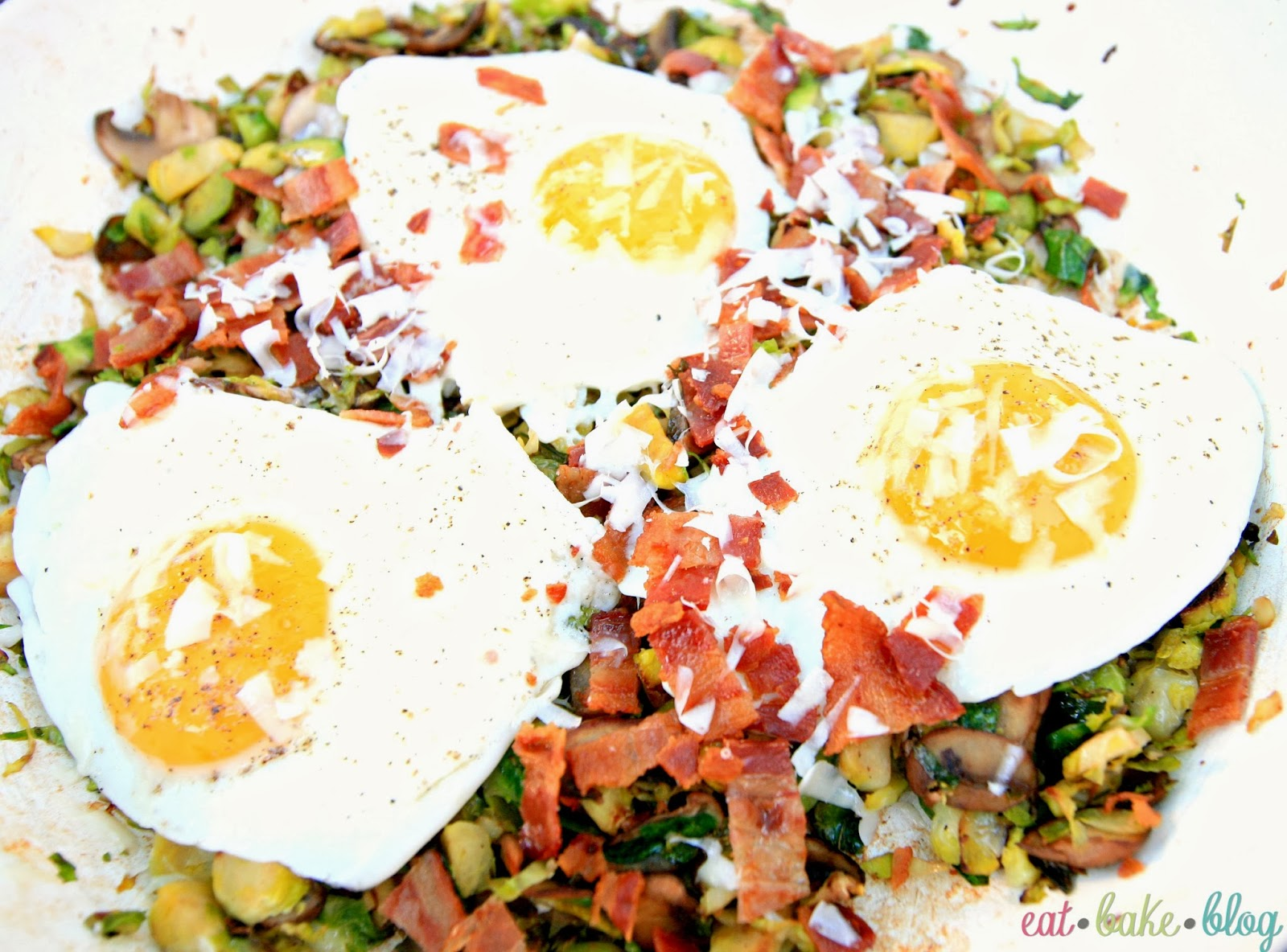 breakfast hash recipe eggs bacon hash recipe  brussels sprouts recipe