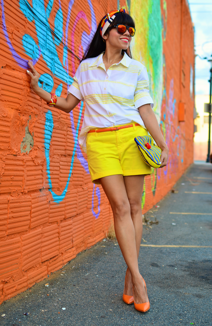 Color-block Street Style