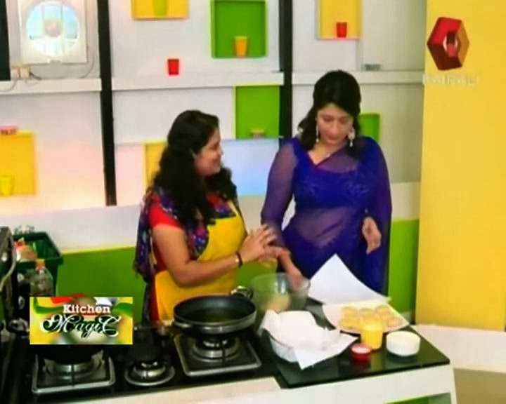 Celebrity Kitchen Magic Lakshmi Nair Hot Image