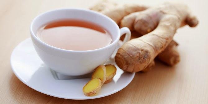 manfaat minuman teh jahe