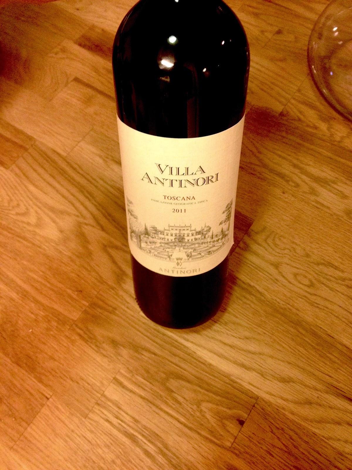 Villa Antinori 2011 Rosso review