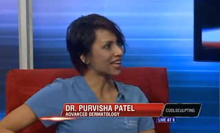 Dr. Purvisha Patel describes Coolsculpting on Memphis TV show Live At 9