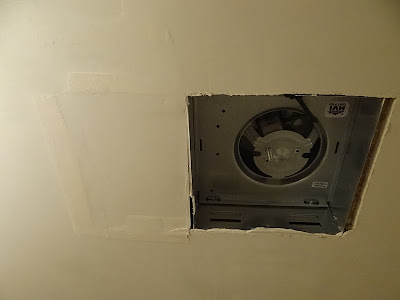 One Project At A Time Diy Blog 184 How To Replace A Bathroom Exhaust Fan