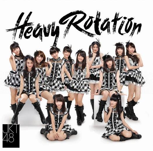 Lirik Lagu Heavy Rotation JKT48