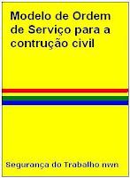 ordem de serviço, construção civil, NR 18