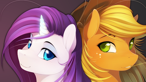 The incredibly talented Rarity and Applejack