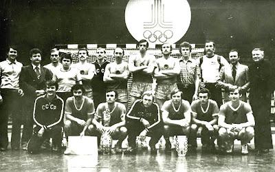 Seleccion balonmano URSS JJOO 1980