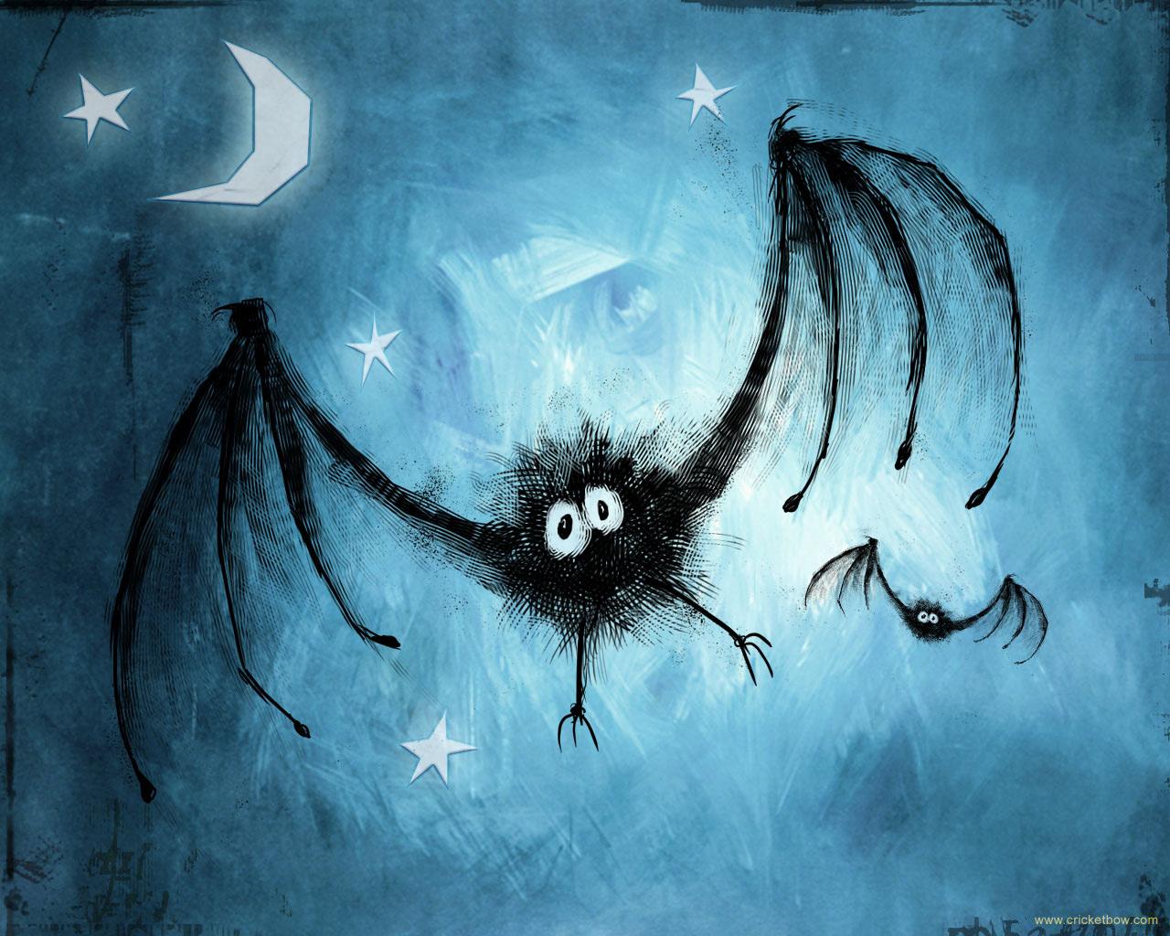 Murciélago en Halloween
