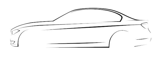 2013 BMW 3-Series (F30) Development Drawing