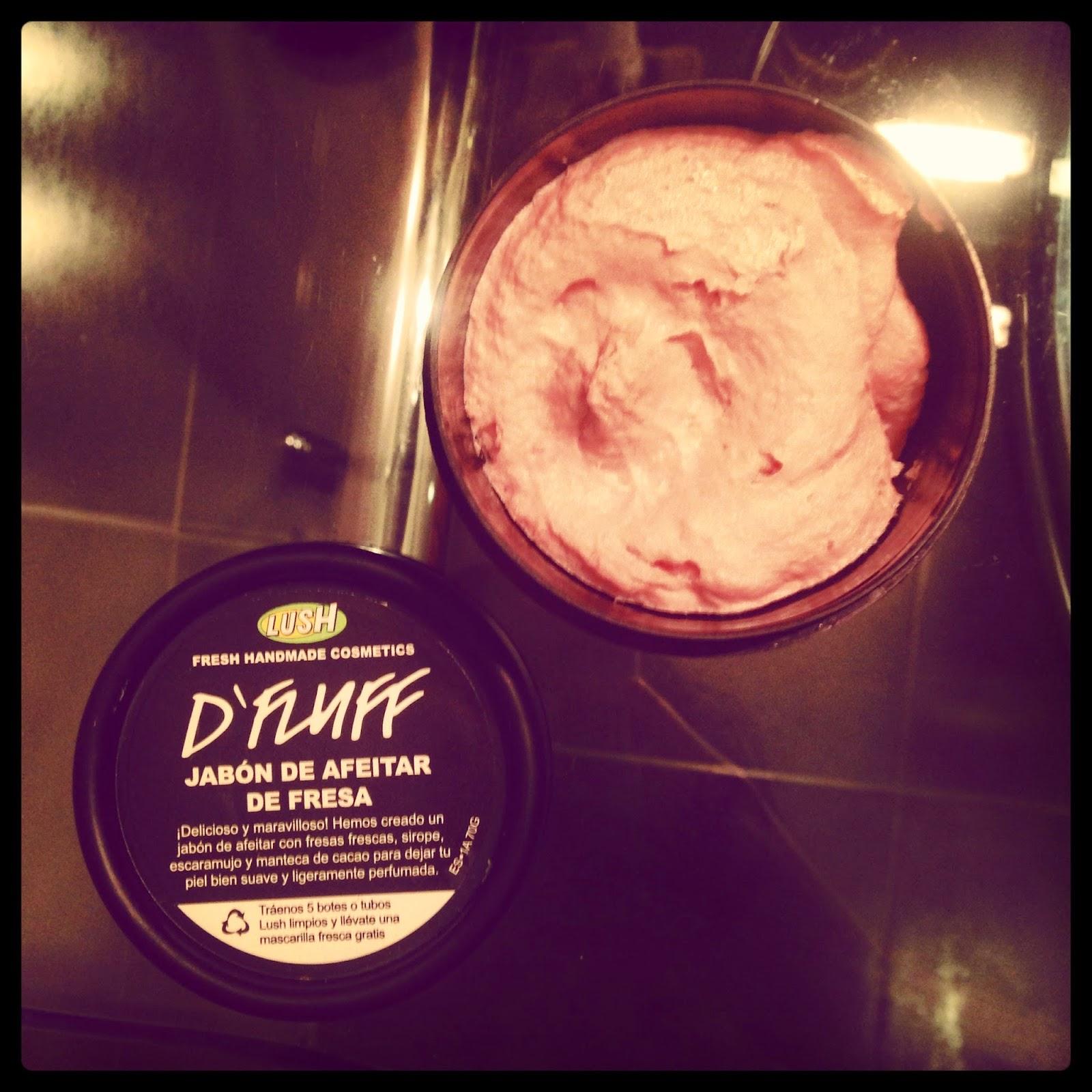 D'Fluff, fresas y depilación.
