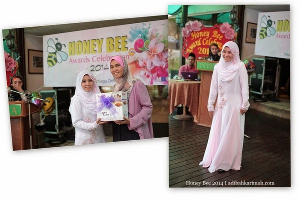 Suhana Daud menang Best Dress dlm Honey Bee Award