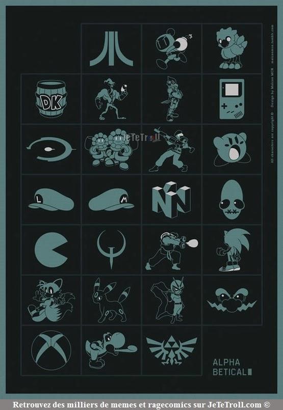 #2 : Alphabet des gamers