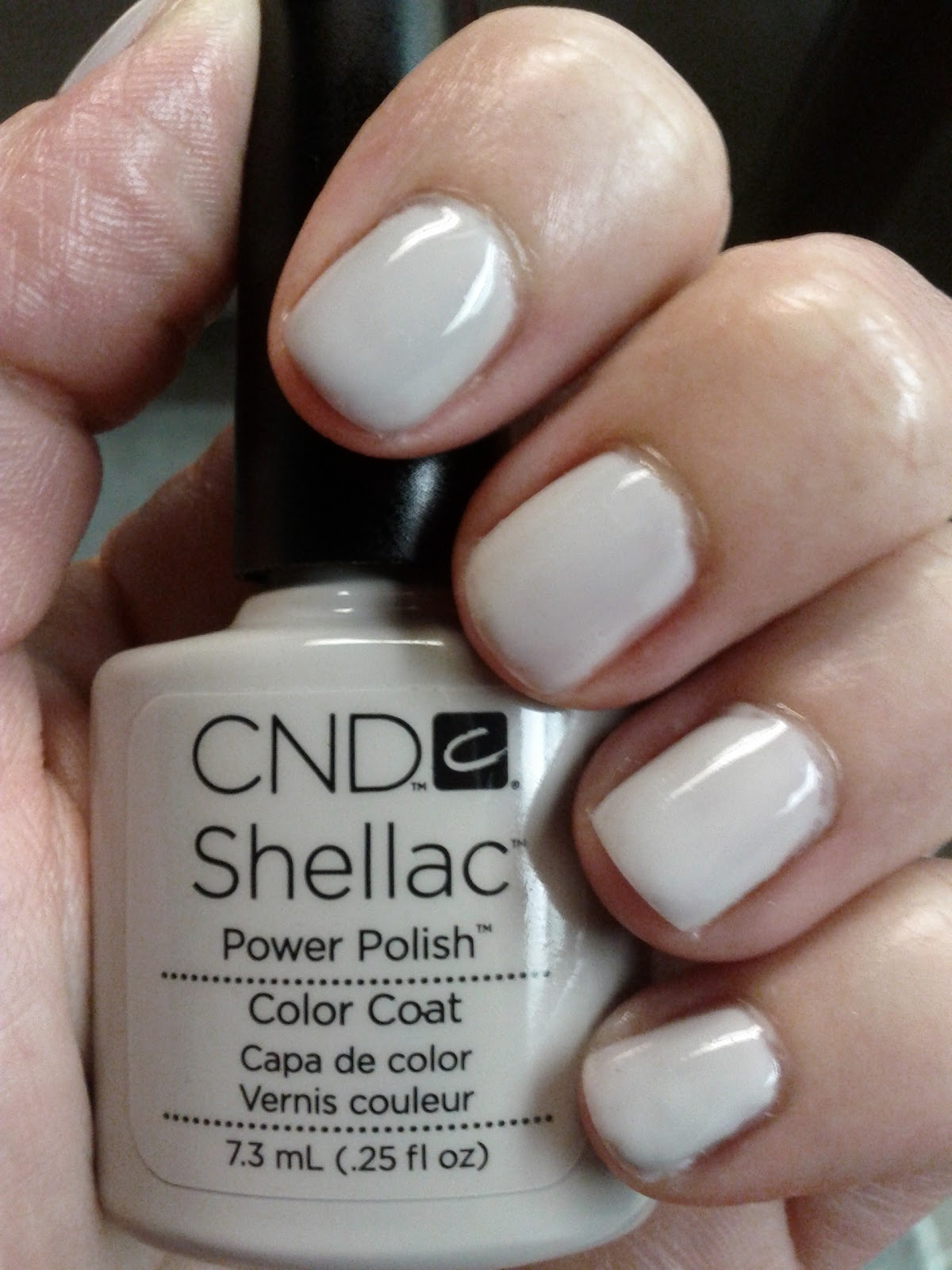 Favoloso Lipgloss Break: CND Shellac in Cityscape HH41