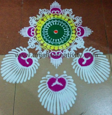 Rangoli for the Day!