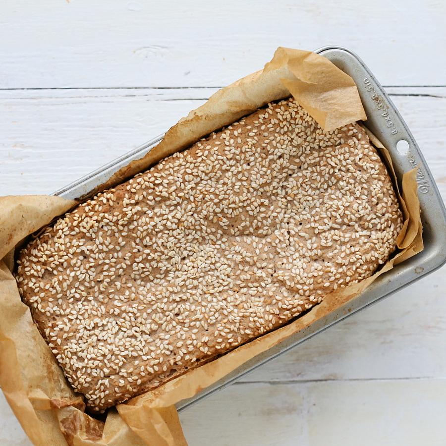 bread gluten free gluten free sesame sandwich bread recipe yummly ...