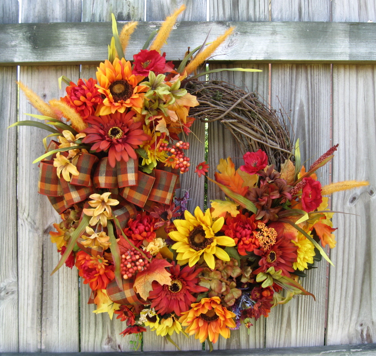 igw gallery rustic fall celebration wreath