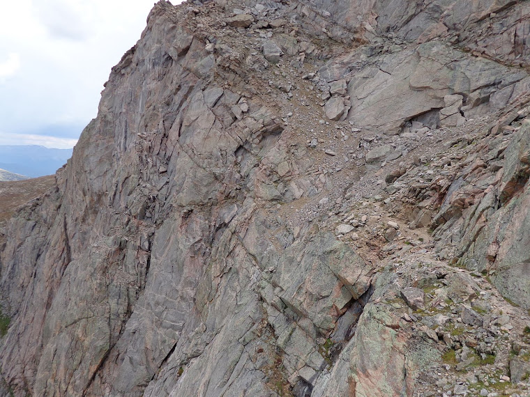The Mad Welshman on the Sawtooth Traverse