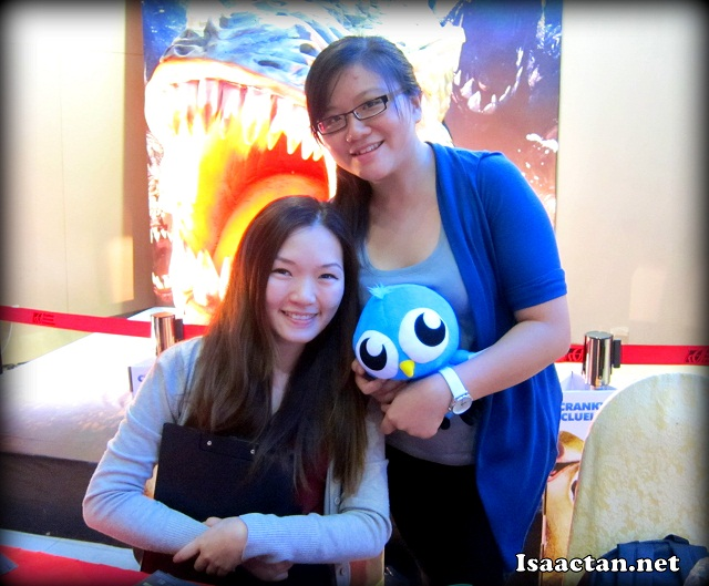 The beautiful people from ChurpChurp (Mikaela and Hwang Hsien)