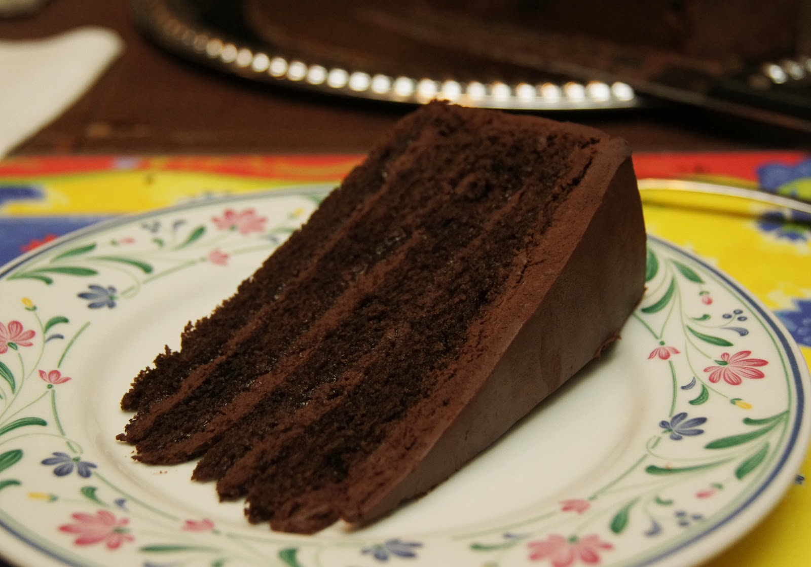 double chocolate cake 1 chocolate cake with fresh chocolate cake with ...
