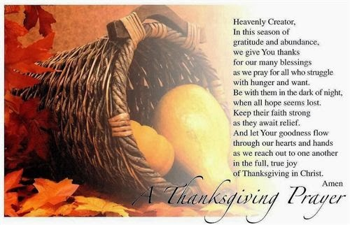 Top Thanksgiving Poems and Prayers