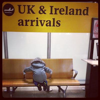 Day 131 of The 366 Project, waiting for Nana, Heathrow