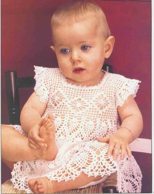 baby dress free pattern,crochet baby dress pattern free,crochet baby ...