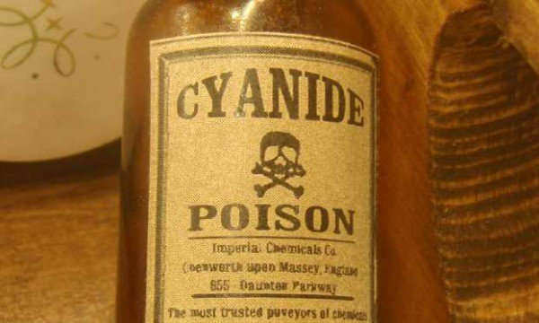 Cyanide poison