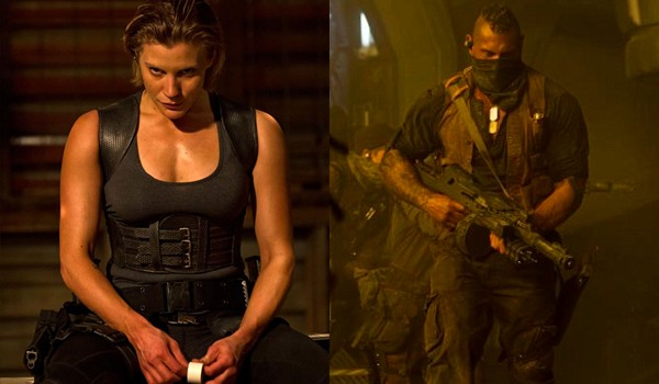 Riddick - Katee Sackhoff | A Constantly Racing Mind