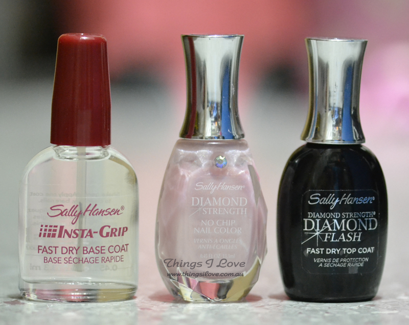 Things I Love: Daimond Nails with Sally Hansen