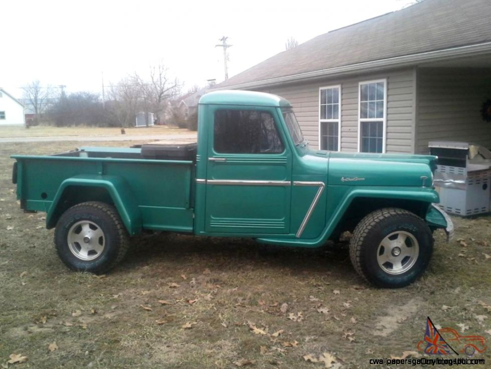 4x4 Jeep Willy Truck