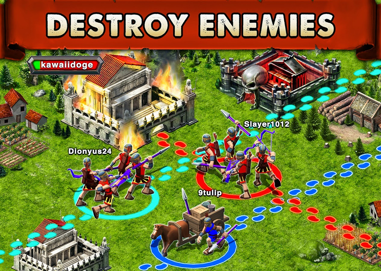Download Game of War - Fire Age for PC ( Windows 7/8,MAC