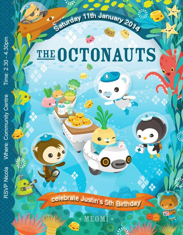 Octonauts Birthday Invites Images - coloring pages adult