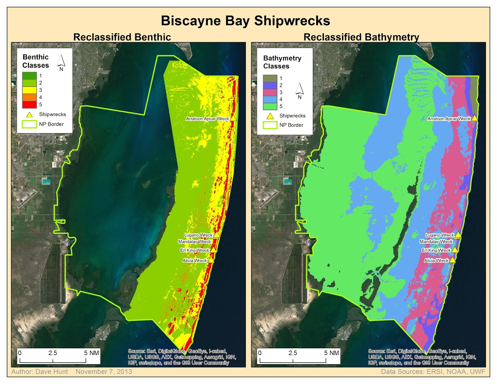 to help us understand the benthic bottom types for example consolidated sediments vs reef terraces these various bottom types are shown in the map