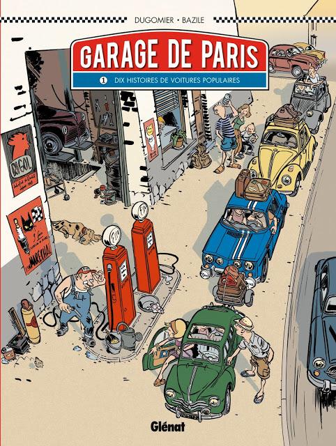 Garage de Paris. (Série complète)
