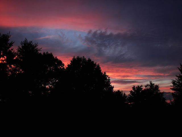 sunset real life